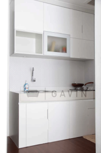 dekorasi kitchen set minimalis