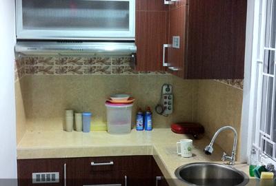 Harga lemari dapur kitchen set jakarta for Biaya kitchen set per meter