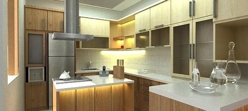 Cara menghitung biaya pembuatan kitchen set kitchen set for Harga kitchen set per meter lari