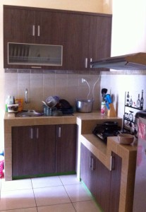 Dapur kitchen set minimalis kitchen set jakarta for Biaya membuat kitchen set