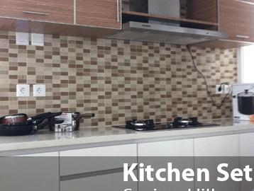 Dekorasi dapur kitchen set jakarta for Kitchen set jakarta