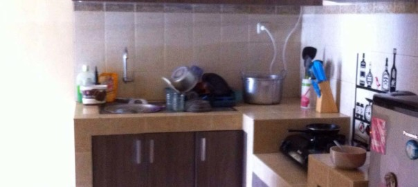 Desain Kitchen Set Untuk Dapur Kecil Pada Rumah Minimalis Kitchen