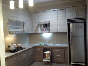 Kabinet dapur pasang siap murah kitchen set jakarta for Kitchen set murah jakarta