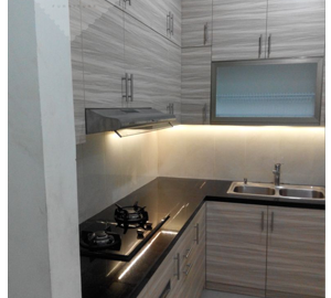 Harga kitchen set bsd per meter kitchen set jakarta for Harga kitchen set per meter