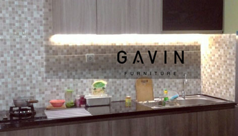 Gavin furniture kitchen set jakarta for Kitchen set jakarta