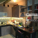Harga Kitchen Set Minimalis HPL Ibu Ami Di Bintaro 4