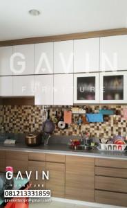Jual Kitchen Set Desain Minimalis Dengan HPL Di BSD City