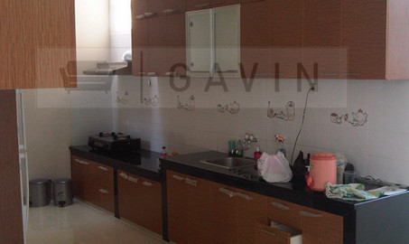 Kitchen Set Minimalis HPL Di Meruya Jakarta Barat