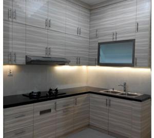 Kitchen Sets Minimalis Klien Ibu Eka Di Sepong