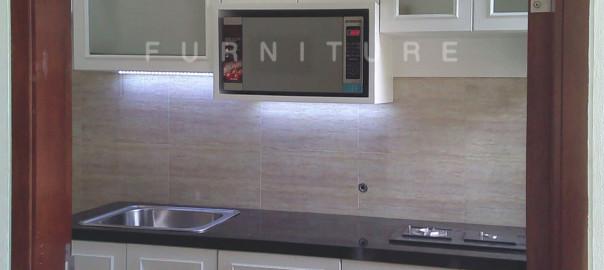 Kitchen Set Minimalis Dengan Duco Klien Bintaro
