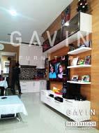 Backdrop tv jakarta selatan kitchen set jakarta for Kitchen set jakarta barat