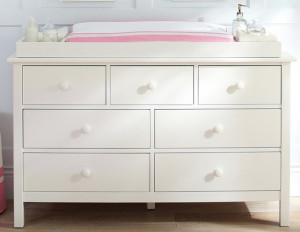 Cute Baby Furniture Dresser Putih