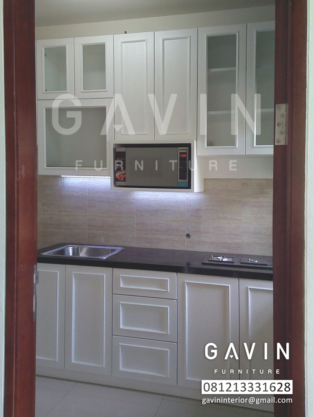 Kitchen set produksi gavin furniture kitchen set jakarta for Kitchen set jakarta