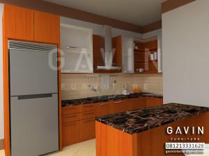 Desain 3D Model Kitchen Set Terbaru 2016