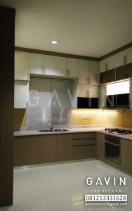 Kitchen Set Design Mencapai Plafon Pak Sapta Di Cirendeu