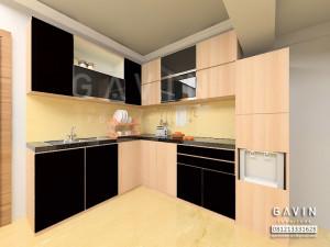 Desain 3D Harga Kitchen Set Minimalis Murah Di Cempaka Putih