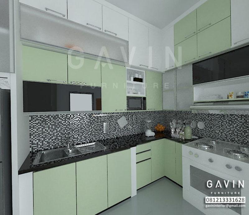 Gambar 3d untuk harga kitchen set murah di cakung for Harga buat kitchen set