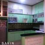 Harga Kitchen Set Murah Finishing HPL Ibu Ivo Cakung