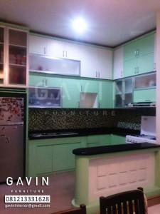 Harga Kitchen Set Murah Finishing HPL Ibu Ivo Cakung