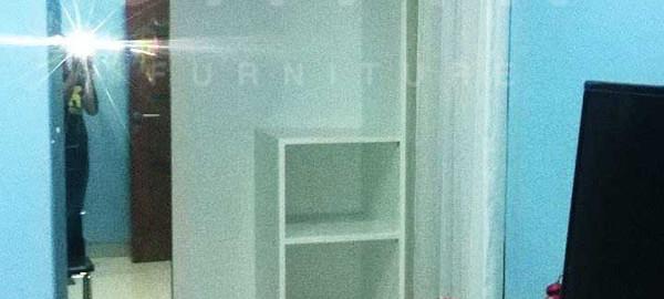 Lemari pakaian sliding 2 pintu kitchen set jakarta for Harga kitchen set per meter lari