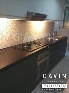 Kitchen Set Murah Jakarta Minimalis Ibu Ayu Permata Hijau