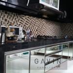 Lemari Dapur Bagian Bawah Dengan Stainless