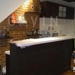 Model Kitchen Set Minimalis Lengkap Dengan Minibar Di Karawaci