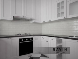 kitchen set american style by gavin furniture