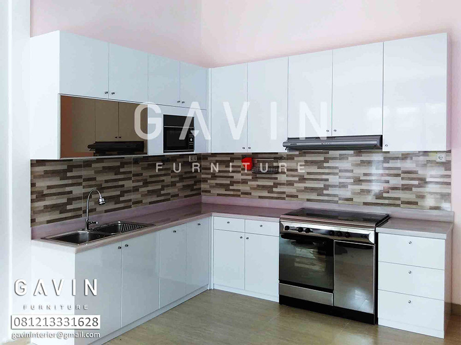 Contoh kitchen set minimalis kitchen set jakarta for Contoh kitchen set minimalis