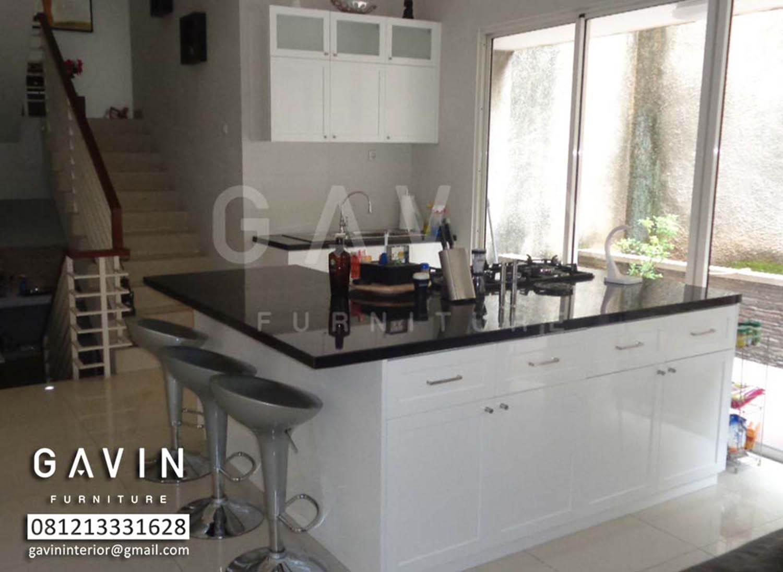 Desain Kitchen Set Dengan Mini Bar Kitchen Set Jakarta