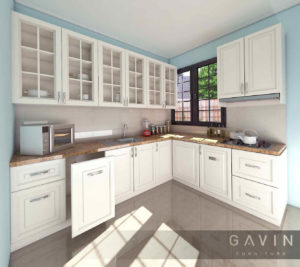 design-kitchen-set-klasik-putih
