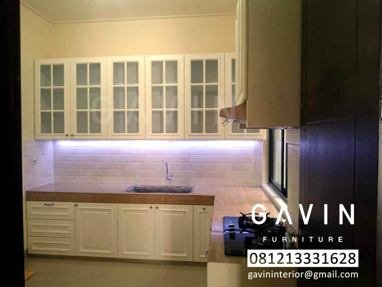 Model Kitchen Set Semi Klasik Kitchen Set Jakarta