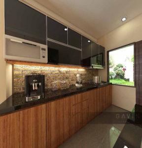 Harga Kitchen Set Minimalis Modern Full Kaca Di Kebagusan Kitchen