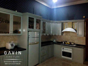Harga finishing duco kitchen set jakarta for Harga kitchen set duco per meter