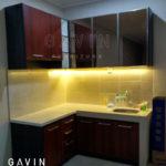 contoh-kitchen-set-minimalis-cermin-bronze