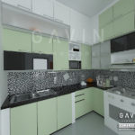 desain kitchen set custom by gavin