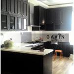 desain kitchen set klasik letter u