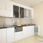 gambar desain kitchen set minimalis modern by gavin