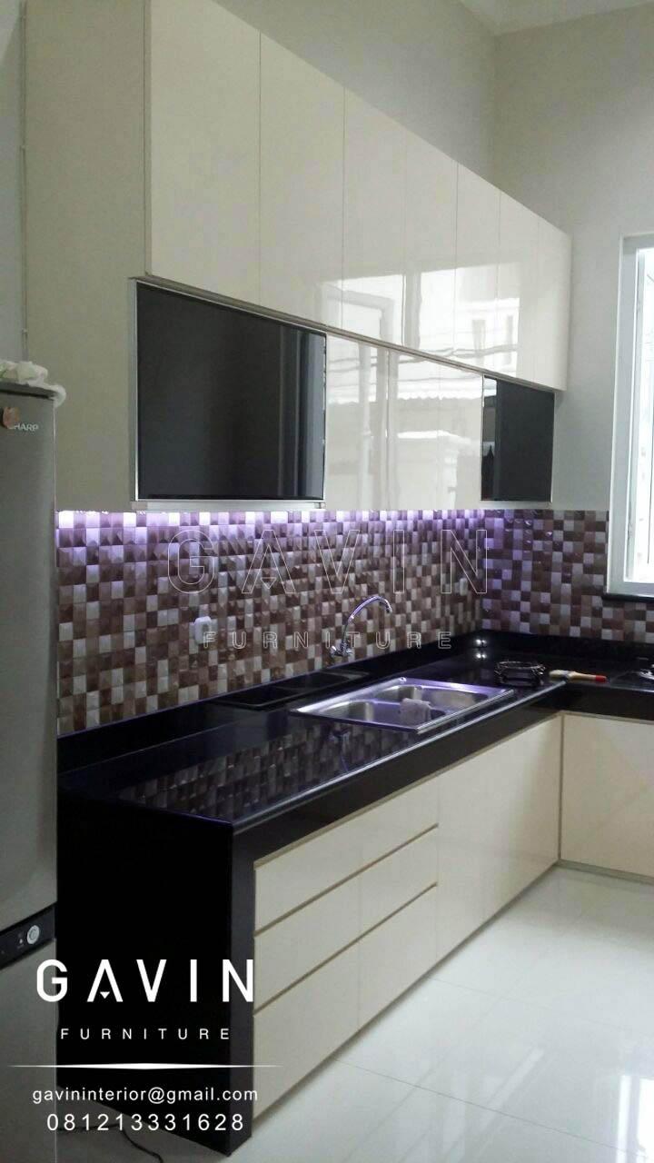 Harga Pembuatan Kitchen Set Minimalis Gavin Furniture Kitchen Set Jakarta