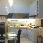 kitchen set minimalis finishing duco glossy