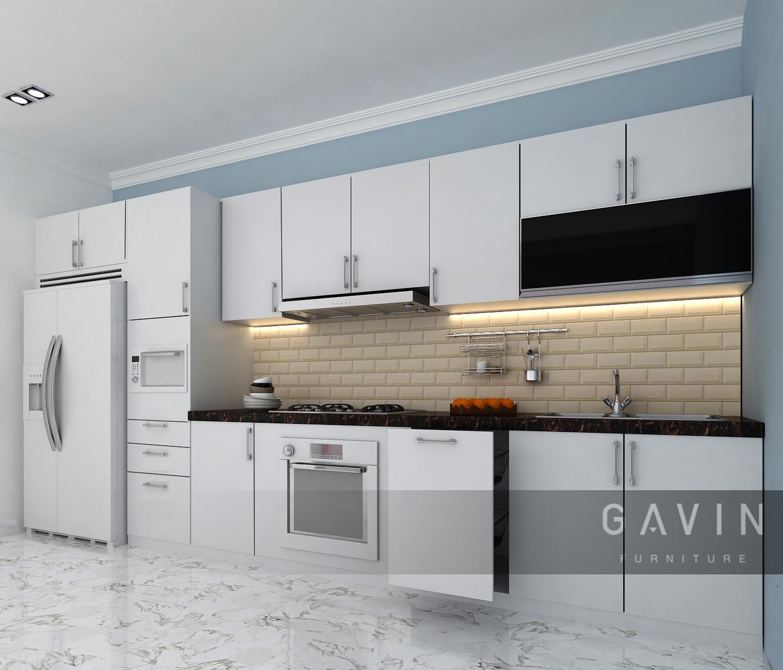 pembuatan desain kitchen set minimalis