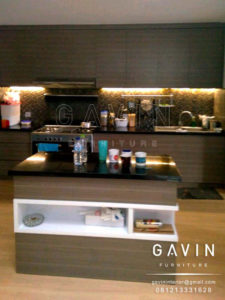 Q2189 design kitchen set minimalis dapur kotor di bintaro