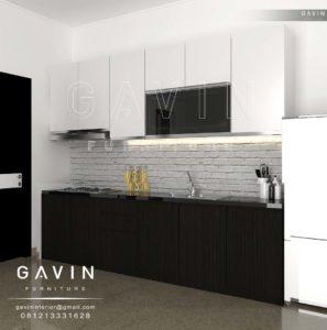 Contoh kitchen set design custom klien di ciputat kitchen set jakarta Kitchen set di jakarta design center