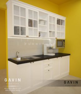 Q2503 design kitchen set klasik minimalis by gavin