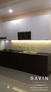 kitchen set minimalis modern harga murah gavin furniture