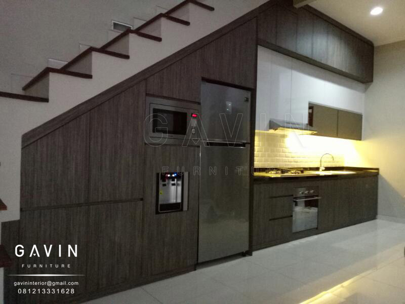 Model Kitchen Set Minimalis Modern Gavin Furniture Kitchen Set Jakarta