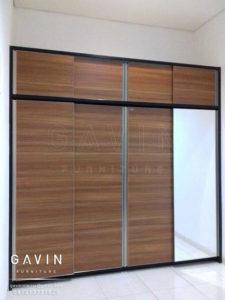 Q2655 model lemari sliding minimalis