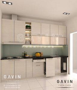 Harga kitchen set hpl per meter kitchen set jakarta for Harga kitchen set per meter