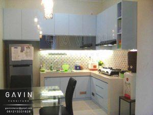 kitchen set duco biru muda glossy di cipondoh Q2726
