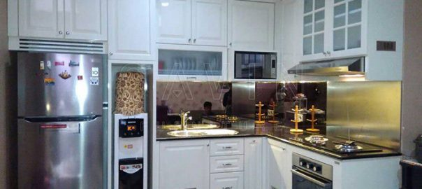 kitchen set klasik finishing duco cream semi klasik semi glossy Q2693